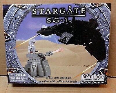 Stargate SG-1 Best-Lock Construction Toy F302/Jaffa Tower 100+ pieces