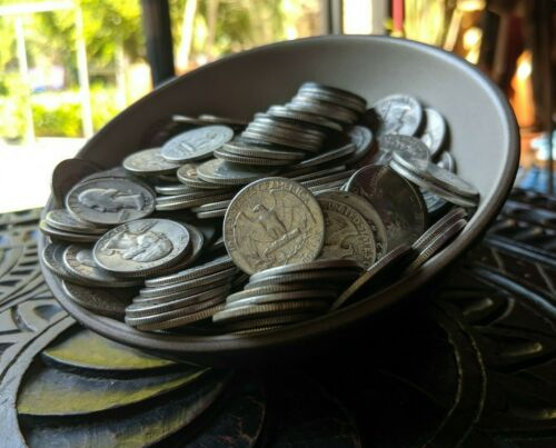 1/2 Half Pound of 90% Silver Quarters - NO JUNK - Pre 1964 FULL DATE Coin Lot