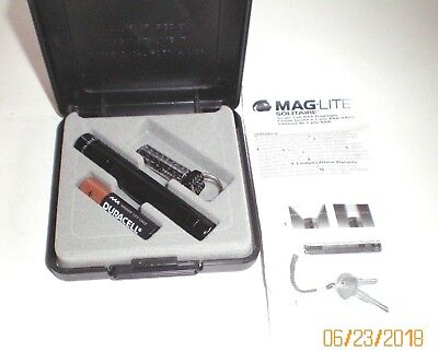 """Amoco """"Batman - Light The Night""""  Maglite 1997 Promotional  New in Case"""