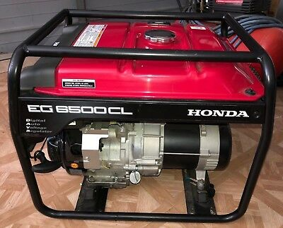 Honda Generator Eg 6500cl Local Pick-up Only South Florida