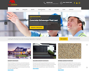"Website Sale: #1 Google Ranked for ""Concrete Driveways Sydney"" Sydney City Inner Sydney Preview"
