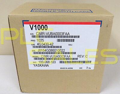 Yaskawa Cimr-vuba0003faa  V1000 Variable Speed Drive Nib