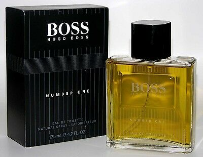 MEN BOSS #1 NO. Number ONE 4.2 oz by * Hugo Boss * Cologne * EDT Spray NEW Hugo Boss Number One