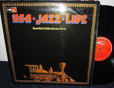 USA JAZZ LIVE * LP * BASF * BAP 5068