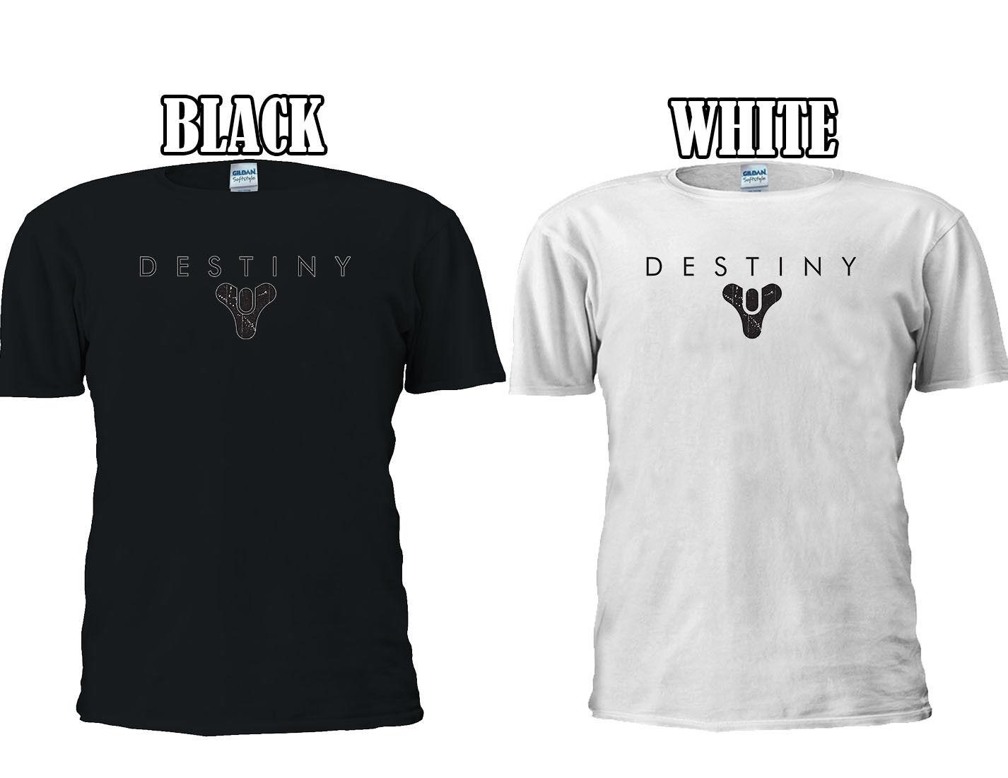 Destiny Logo Hunter Titan Xbox One T-shirt Baseball Vest Men