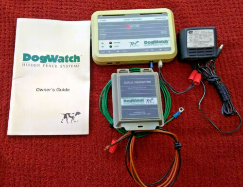 DogWatch System T3000 Transmitter + Power Supply + Surge Protector