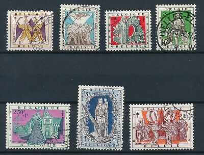 [784] Belgium 1957 good Set very fine Used Stamps