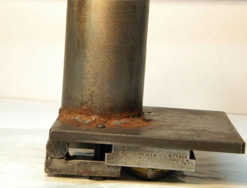 Huge Hydraulic Press Profile Jig and cutter; Machinist, Metal Lathe, Fabrication