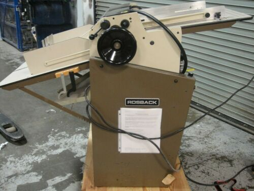 Rosback True Line Air-Feed Perforator/Score/Slitter 220 AV, 1997