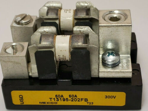 USD 60AMP 300V T13195-202FB Fuse Block Assembly