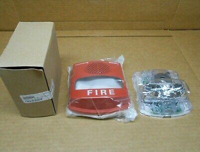 1 Nib Simplex 49av-wrfo 49avwrfo Fire Alarm Hornstrobe Wall Mount Weatherproof