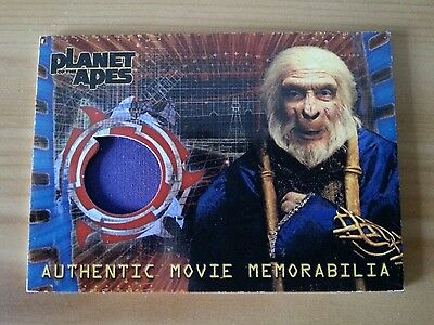 PLANET OF THE APES COSTUME TRADING CARD SANDERS ROBE