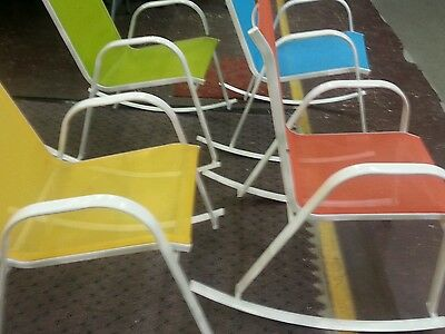 - any 4pc Sling Patio Rocking Chair Outdoor Patio Living Furniture Wholesale price