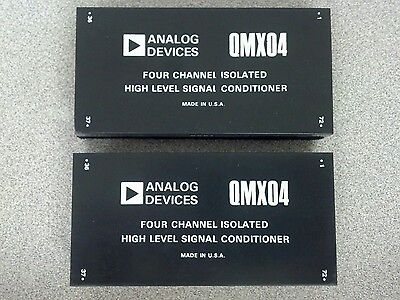 2 New Analog Devices Qmx04 Signal Conditioner