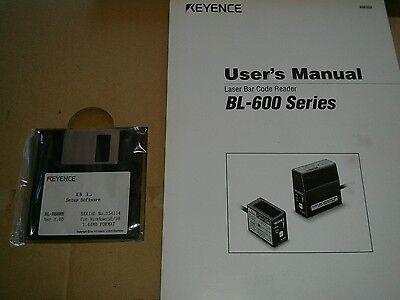 New Old Stock Keyence Bl-h60we Auto Id Navigator Setup Software