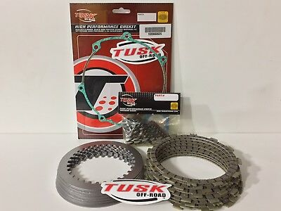 TUSK CLUTCH KIT with HD Springs ORING GASKET HONDA TRX 450R 04-09 (Trx450r Clutch)