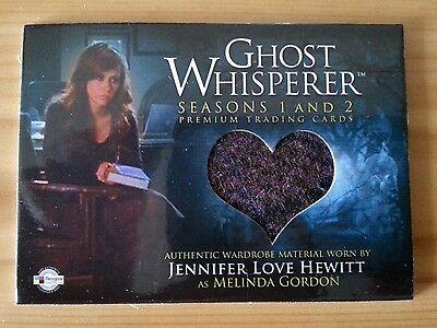 GHOST WHISPERER JENNIFER LOVE HEWITT WORN COSTUME PIECEWORKS TRADING CARD GC-2