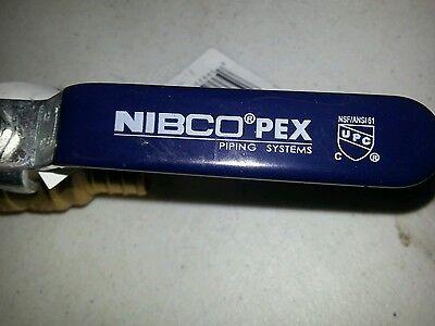 Pex Brass Ball Valve 34 Nibco New