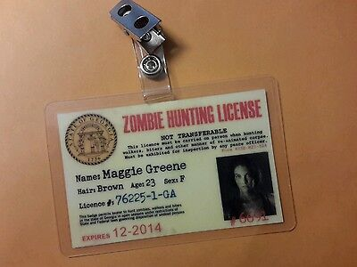 The Walking Dead Id Abzeichen - Maggie Greene Cosplay Kostüm Requisite