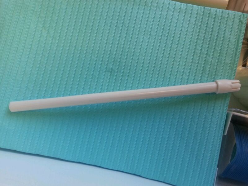 3000 DENTAL SALIVA EJECTORS FOR DENTISTRY WHITE SLOW SUCTION TIPS