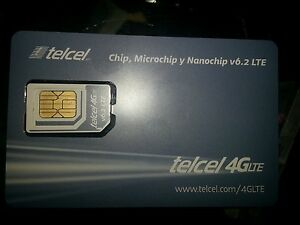 telcel sim card (free first month included)