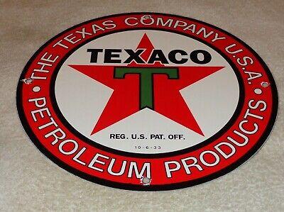 VINTAGE TEXACO PETROLEUM PRODUCTS 11 3/4