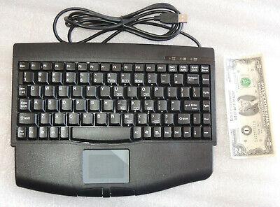 *Nice* Adesso ACK-540UB Mini Touch USB Mini Keyboard used guaranted