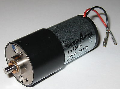 Maxon Gearhead Motor A-max - 50 Rpm 12 V Dc - 100 Rpm 24 Vdc - Low Current