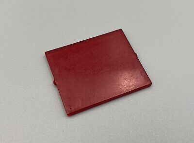 LEGO Trans-Red Glass for Window 1 x 4 x 3 6955 6895 6781 6955 6886 Space Police