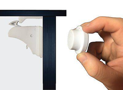 EliteBaby Magnetic Cabinet and Cupboard Locks - No Tools! 8 Locks and 2 Keys