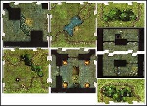 D-D-TILE-SET-Dungeon-Command-Blood-of-Gruumsh-Dungeons-Dragons-Pathfinder