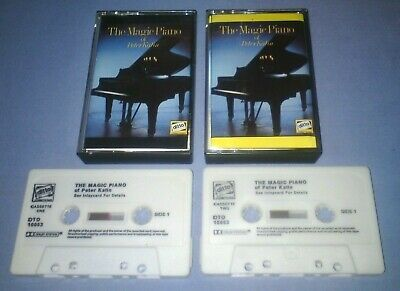 PETER KATIN THE MAGIC PIANO OF classical music cassette T5843