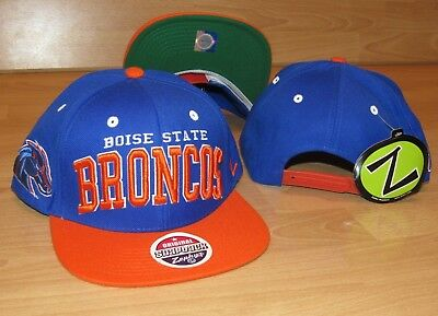 Zephyr Boise State Broncos Adjustable Original Snapback Hat Cap Men