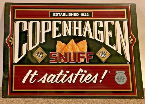 Copenhagen Snuff Metal Sign