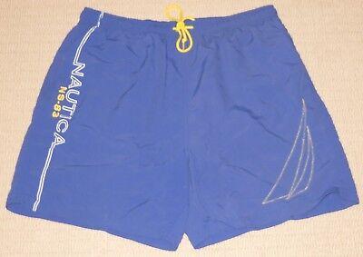 Mens Nautica NS-83 Board Surf Swim Swimwear Swimming Shorts Trunks XLarge (Used Mens Swimwear)