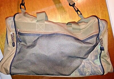 ***Nice Tan/RealTree SPORT Gear Duffle Travel Bag Equipment School Athletic Gym
