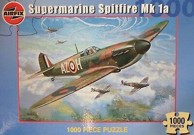 AIRFIX SUPERMARINE SPITFIRE Mk 1a 1000 Piece PUZZLE