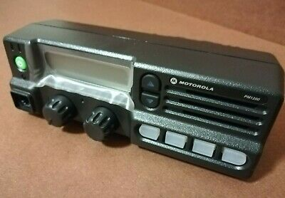 New Motorola Pm1200 Hkln4331a Remote Control Head - 37-50mhz 120 Watts - Japan