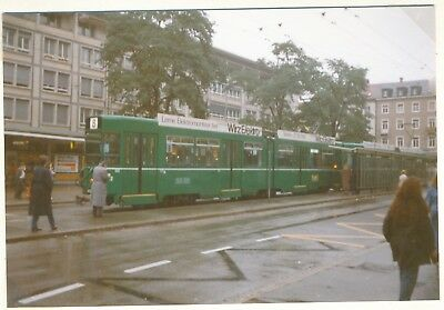 Basel, Düwag-Fahrzeug, S-Bahn Strassenbahn Foto e49-1
