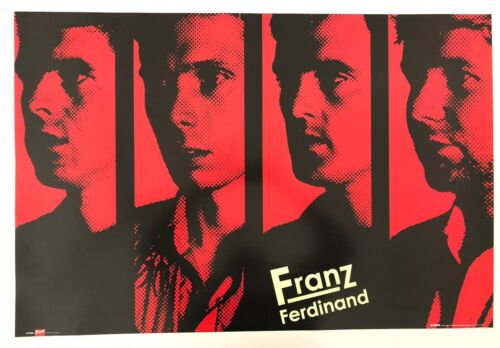 FRANZ FERDINAND,MUSIC BAND, AUTHENTIC LICENSED 2005 POSTER