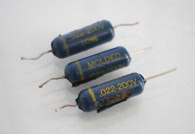 0.022uF 22nF 1000 V K40Y-9//K40U9 PIO paper TONE CAPACITORS 50 PCs