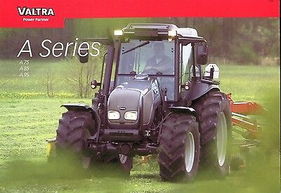 Valtra Tractors A-series brochure