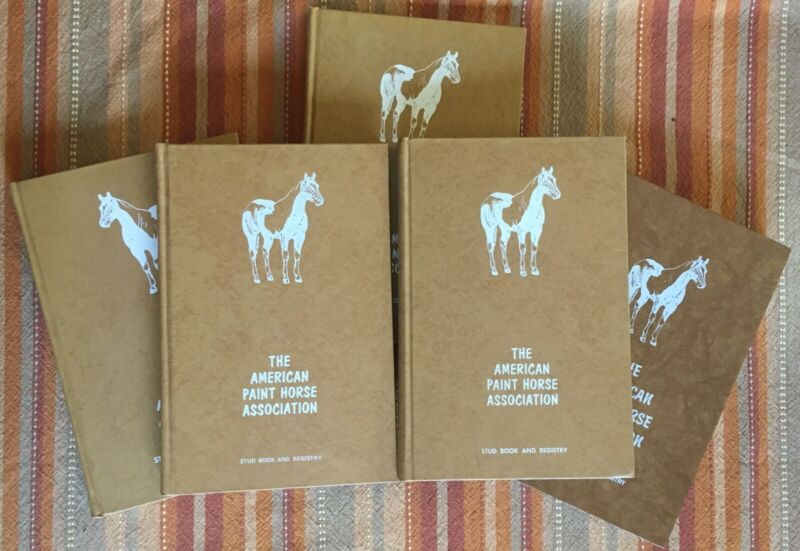 American Paint Horse Association Stud Book and Registry: Volumes 1-5