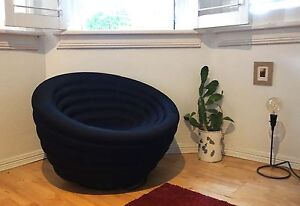SPACE Furniture Black Armchairs - Contemporary Design Potts Point Inner Sydney Preview