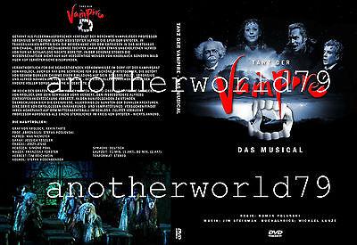 TANZ DER VAMPIRE - Das Musical DVD Cover / Hülle (aktuell Berlin 2018) Neu!!!