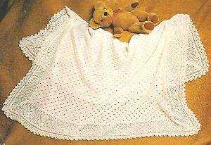 Cherished-Baby-Shawl-Pattern-Lacy-Texture-2-Ply-Knitting-Pattern-48-x