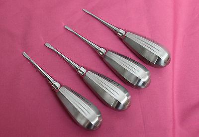Or Grade 4 Luxating Elevators Curved Set 2 3 4 5 Mm Dental Instruments
