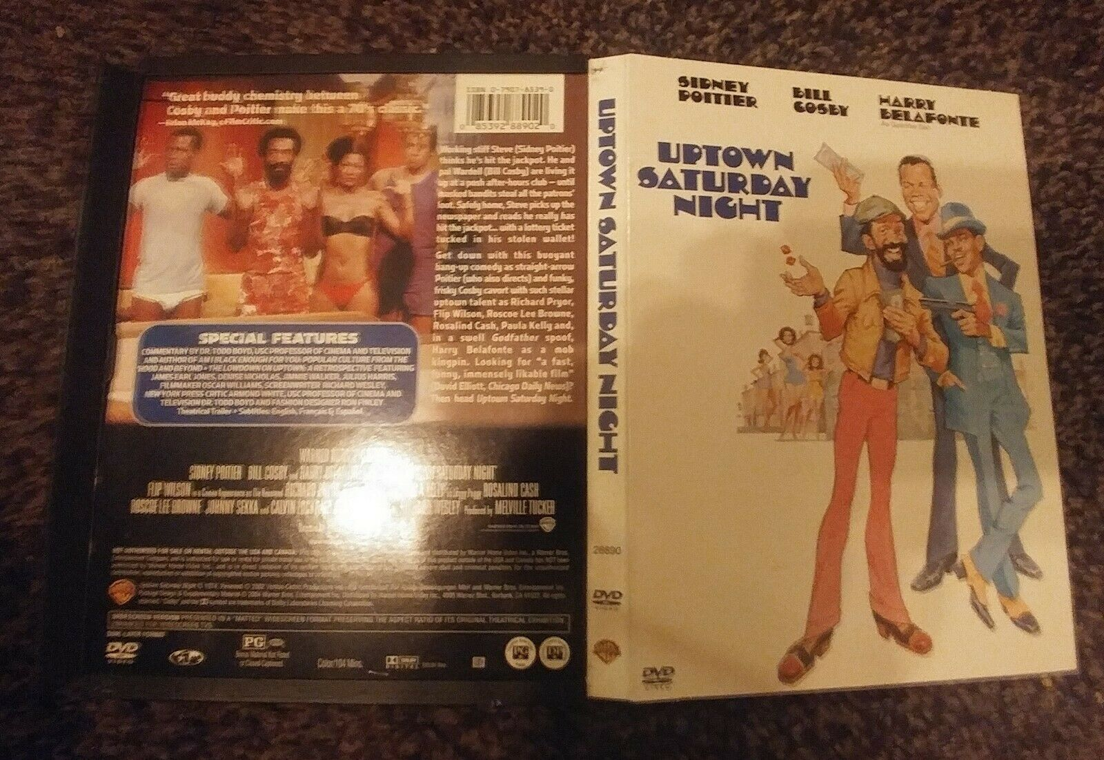 Uptown Saturday Night - 2004 U.S. DVD - With Commentary- Very Good  - $14.77