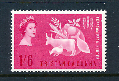 TRISTAN DA CUNHA 1963 FREEDOM FROM HUNGER CROWN AGENTS OMNIBUS  MNH