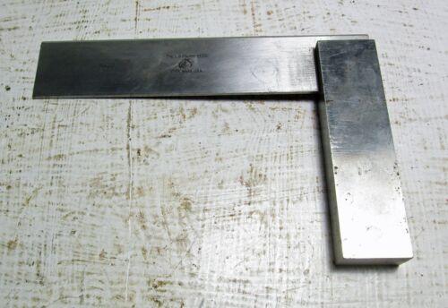 "Starrett No. 20 Machinist Steel Square - 5 1/2"""